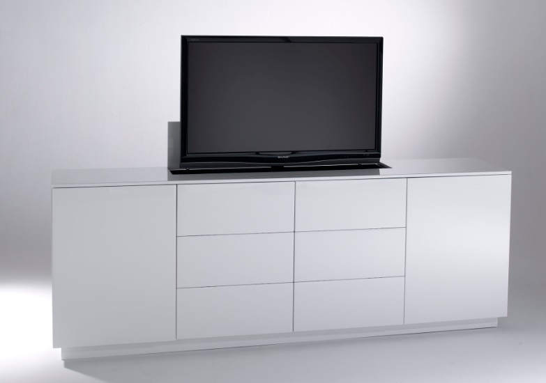 les meubles tv sur mesure projet son image. Black Bedroom Furniture Sets. Home Design Ideas